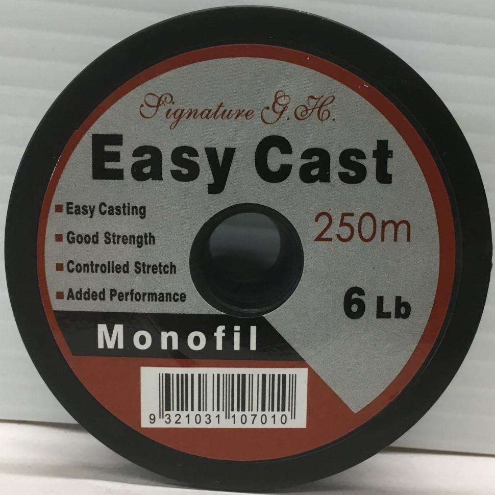 Signature G.H. Easy Cast available in 6lb, 8lb, 10lb, 12lb, 15lb, 20lb, 25lb - 250m