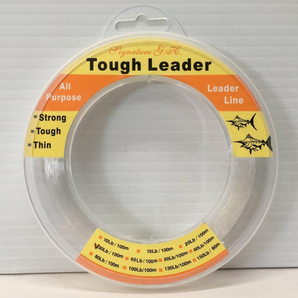 Signature G.H. Tough Leader available in 30lb, 40lb, 50lb, 60lb, 80lb, 100lb - 100m