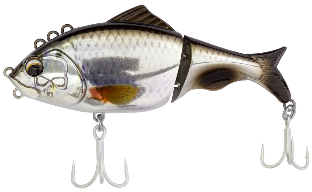 Bones Focus 130 FEATURING 4+1 TOWING EYELETS, EACH WITH ITS OWN UNIQUE SWIMMING ACTION, THIS LURE IS TRULY REVOLUTIONARY.    CLICK HERE FOR VIDEO