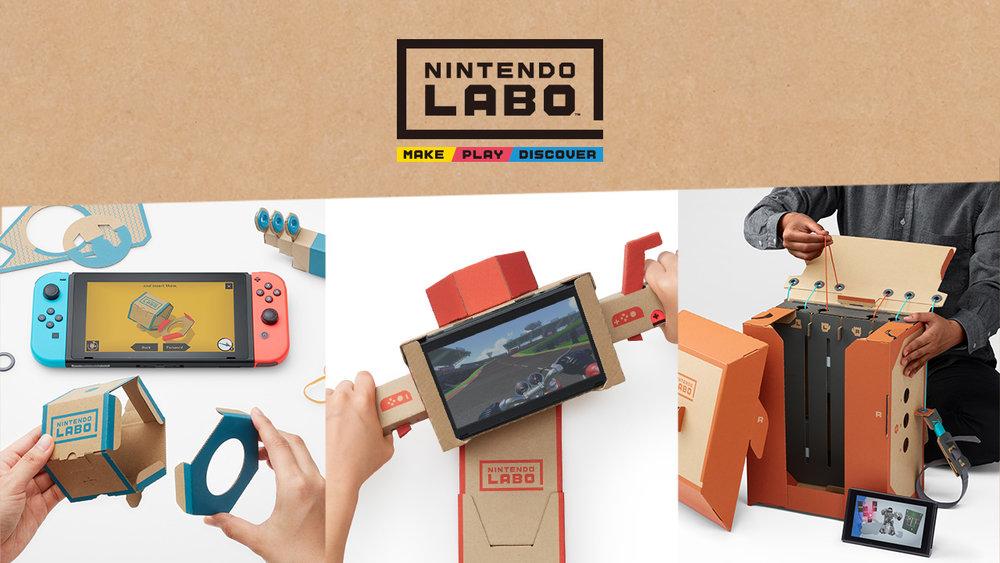 Nintendo LABO facebook photo