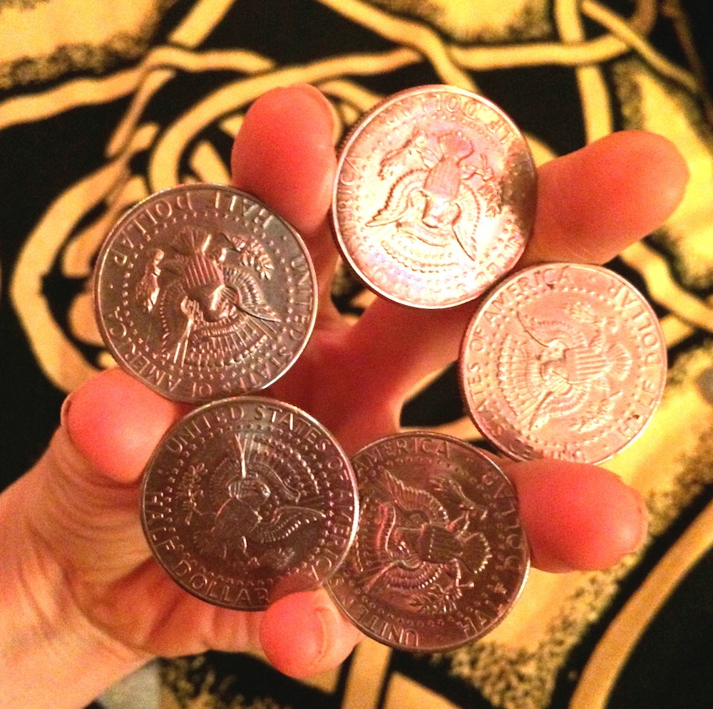 Heather Rogers, Magician, 5-coin rollout, .jpg