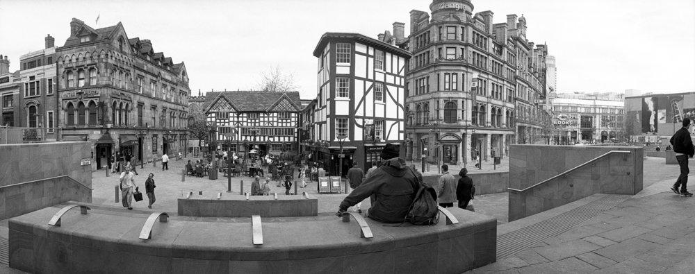 Shambles Square Grey Day