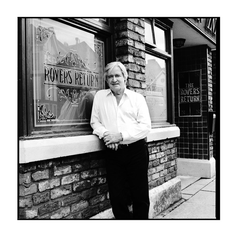 "Ken Barlow played by William Roache Coronation Street BW Print 20""x20""  £150.00"