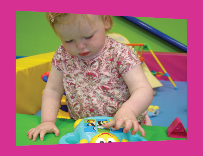Baby area (0-3 yrs)  An enclosed play area where your baby can play safely with age appropriate toys including ride on toys, rockers and a baby gym.