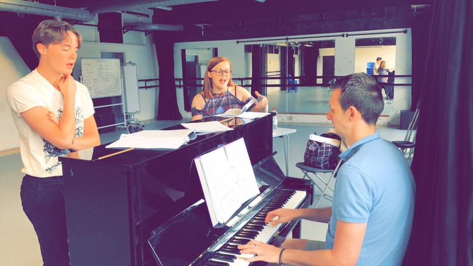 Coaching a student for an audition