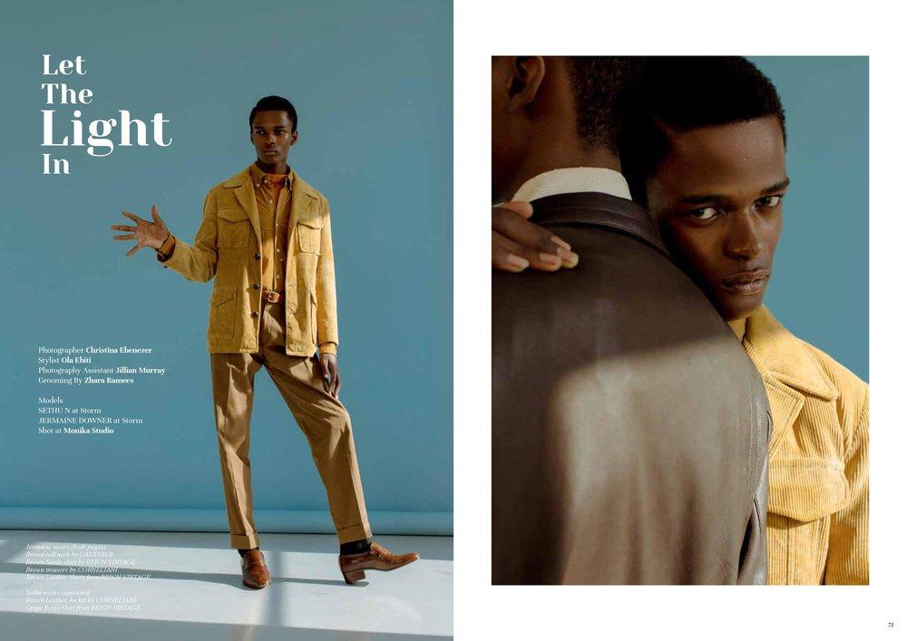 Ola Ebiti x Client Style Magazine