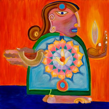 Eva Rose Goetz Acrylic Gouache evarosegoetz.com egoetz@maine.rr.com
