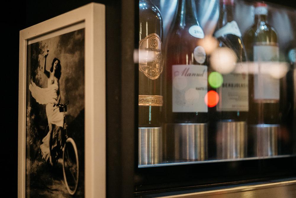 Peloton er et av få steder i Norge som benytter enomatic vinsystem. det betyr at vi kan tilby et større utvalg på glass.
