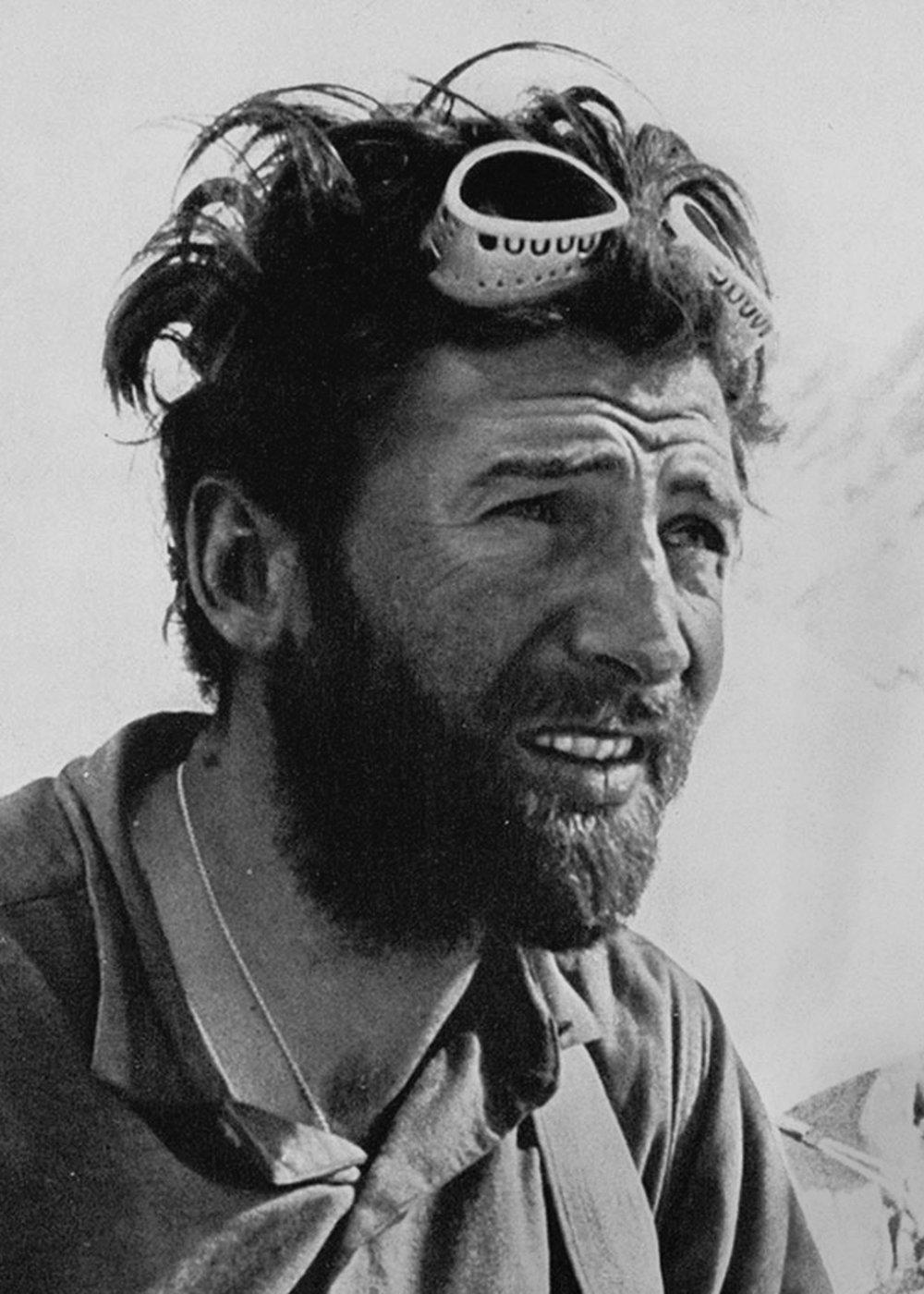 Hermann Buhl - Climber