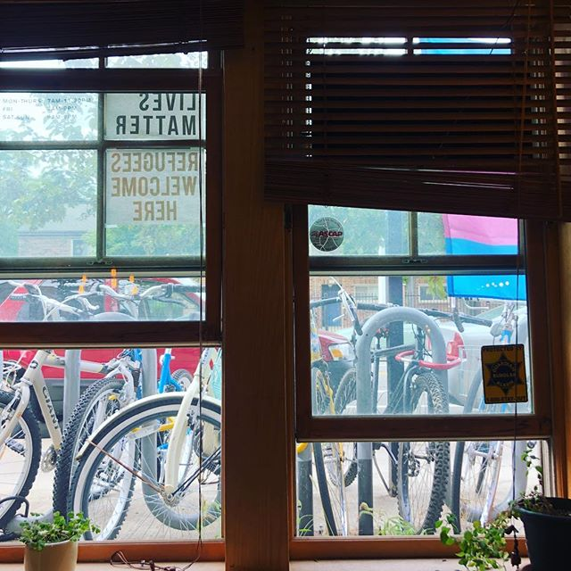 A new place starts to feel like home when you've found a great ☕️ shop and you can 🚲 there