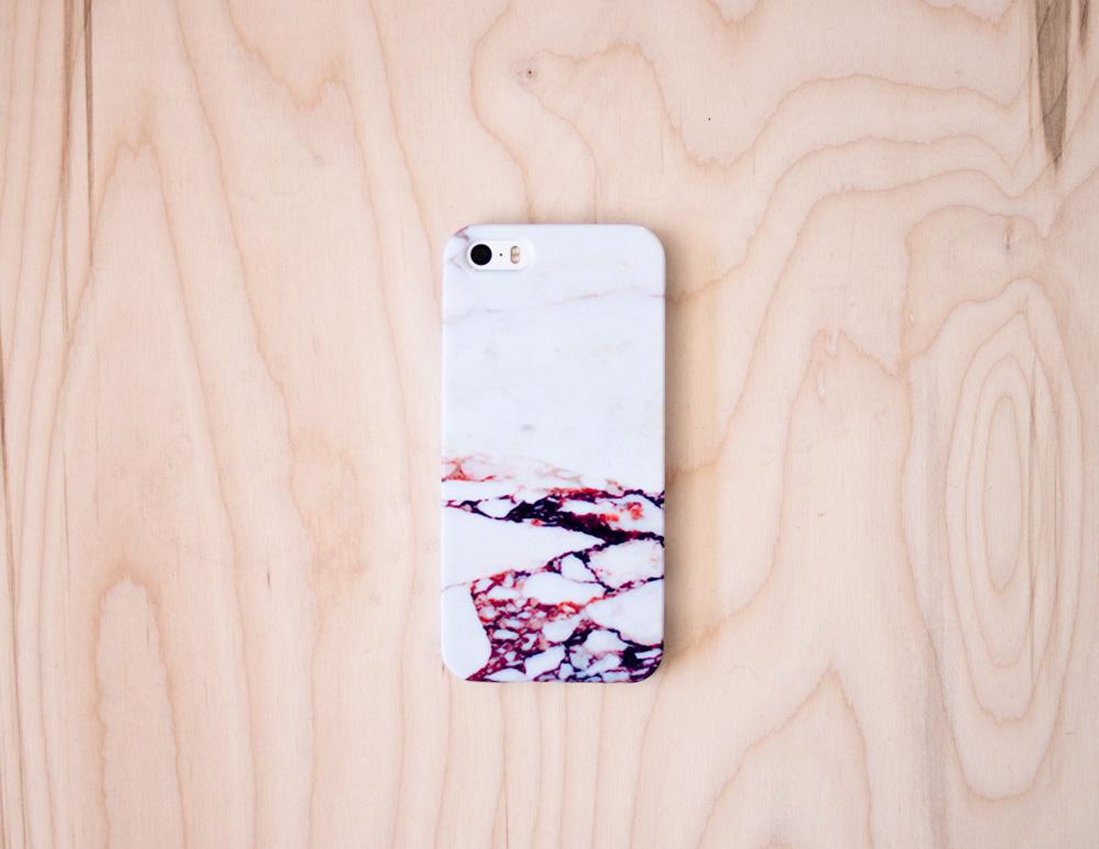 Pink Marble iPhone Case 5   5S   5SE   6   6S — Debbie Carlos Studio c14facbc4