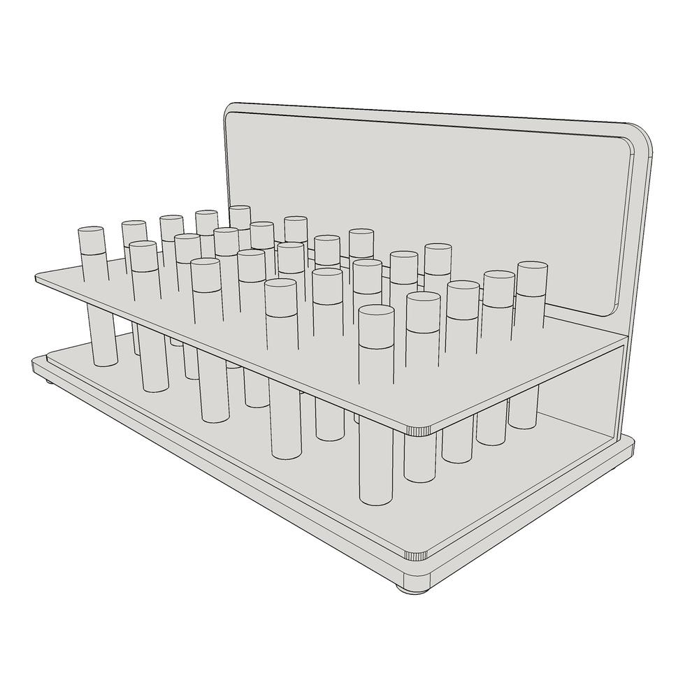 Medium Cartridge Display