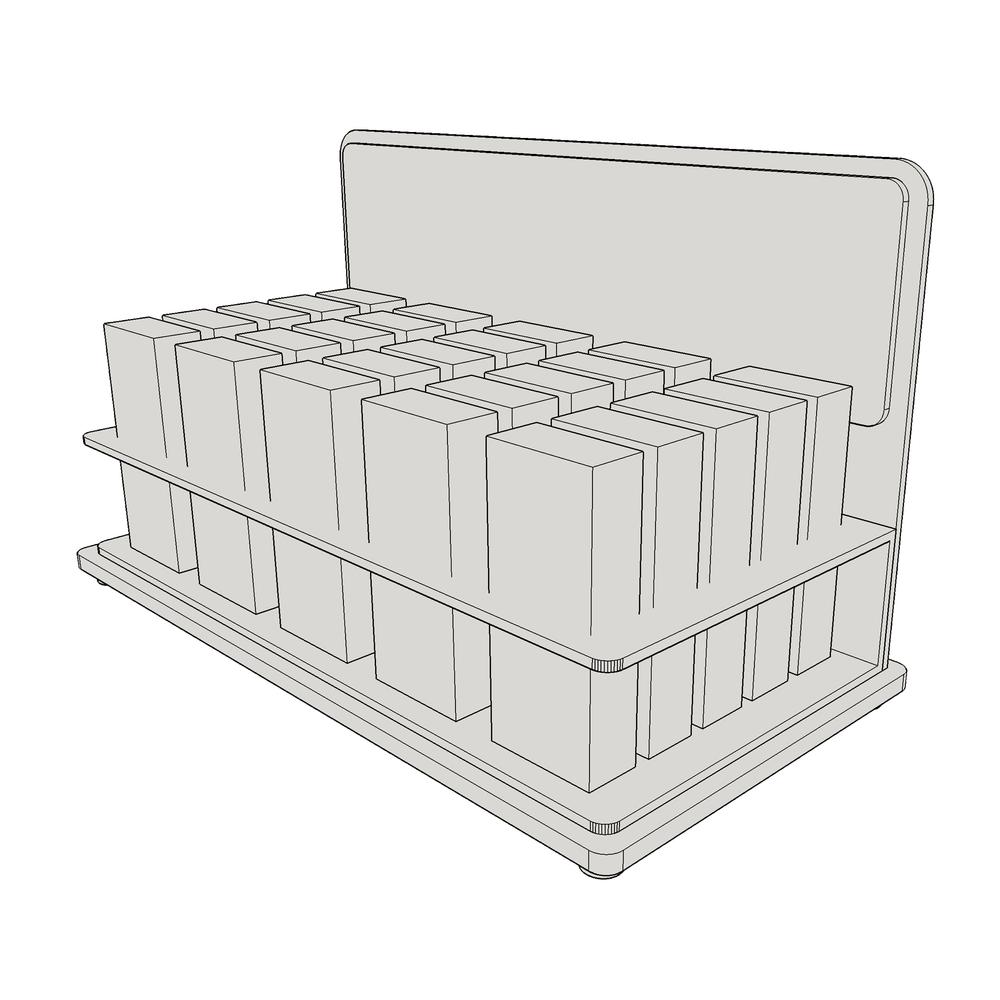 Medium Box Display