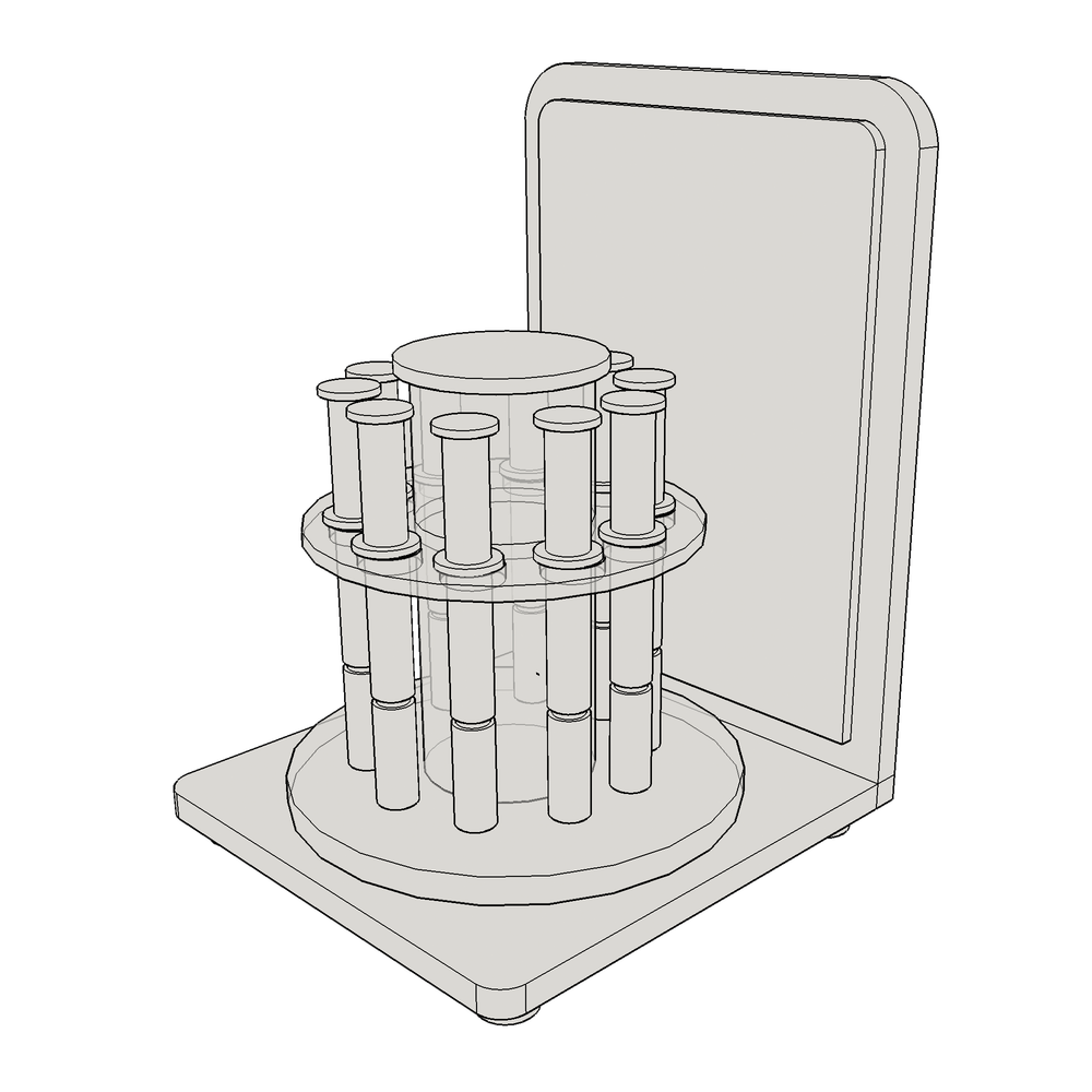 Mini Distillate Display