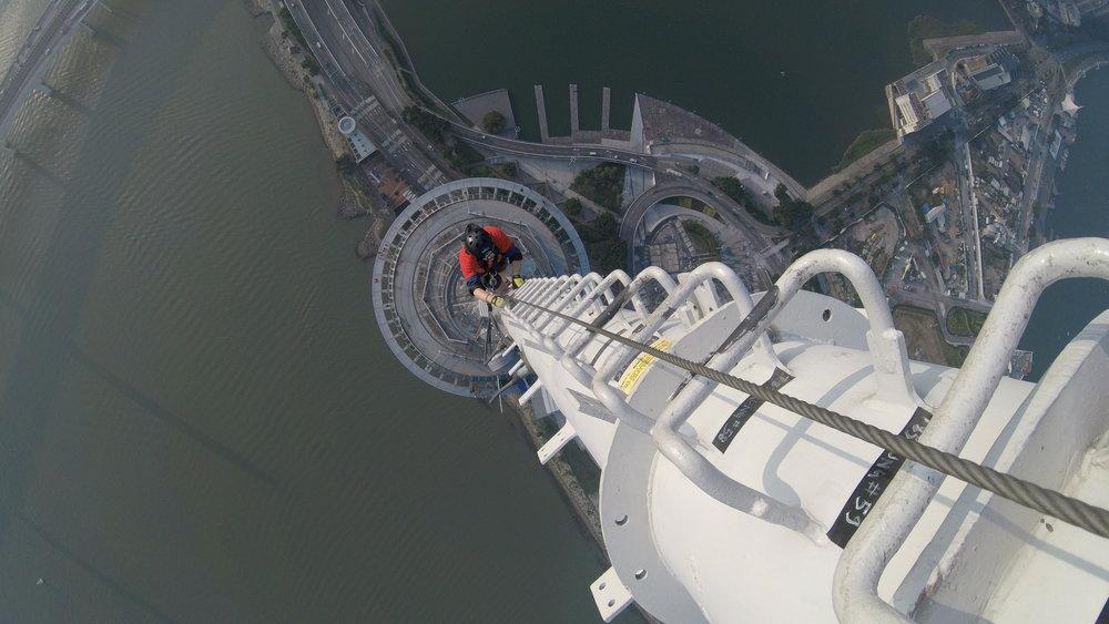 Bravery - Tower final ascent.JPG