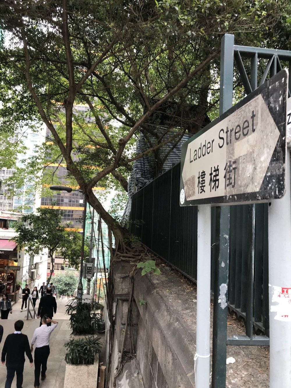Ladder Street - Hong Kong