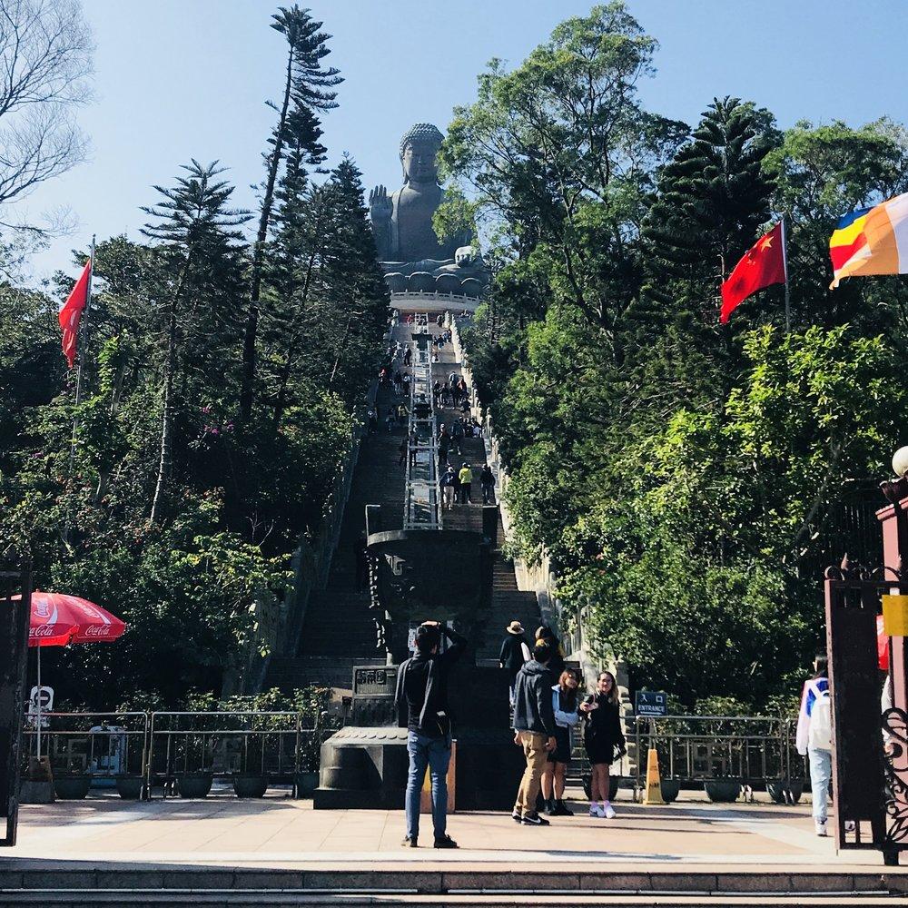 Big Buddha Steps