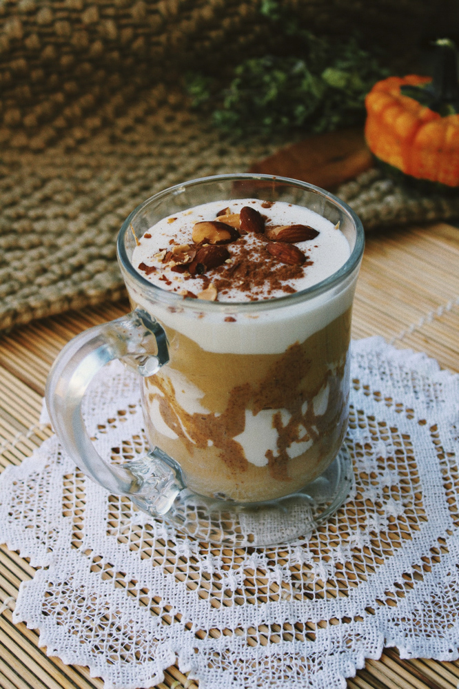 Coconut Pumpkin Almond Parfait