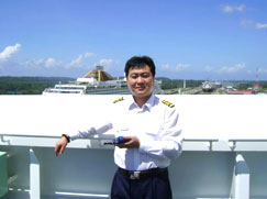 Captain Eric Liu - attended DaLian Maritime University and graduated with a Major In Navigation Technology For seven years he sailed as the Master of several vessels with shipping lines such as MAERSK, BSM, OOCI and ANGLO EASTERN. He has held a position as Senior Surveyor employed by a large Surveying organization in China. He currently is the General manager and principal marine surveyor for a large major marine service company. He has experience in all aspects of the industry as described in our web site.