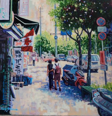 Asian Street Scene