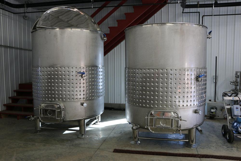 2018 Fermenters 1,000 Gallons