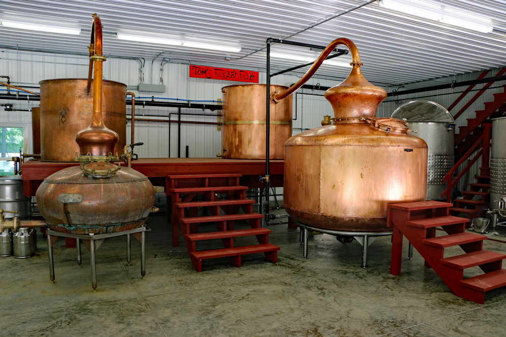 Tom's Foolery - Traditional Copper Pot Stills
