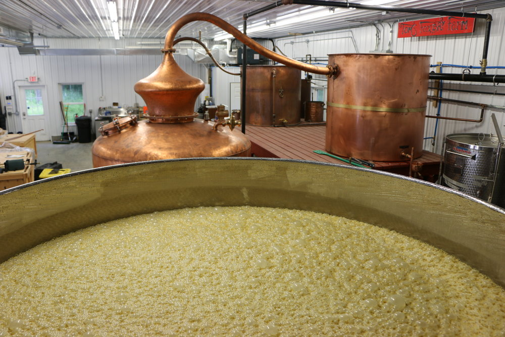 Bourbon - Fermenting
