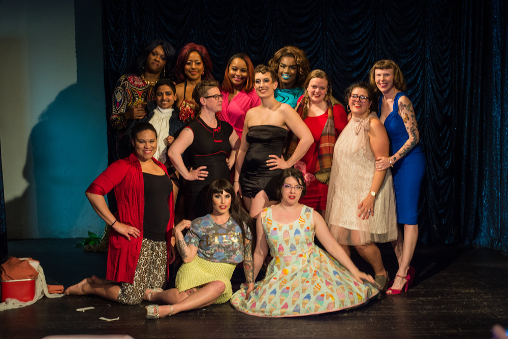 The Femme Show's Tenth Anniversary Cast, 2017