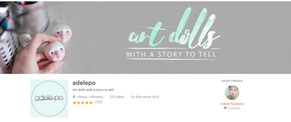 etsy shop by adelepo