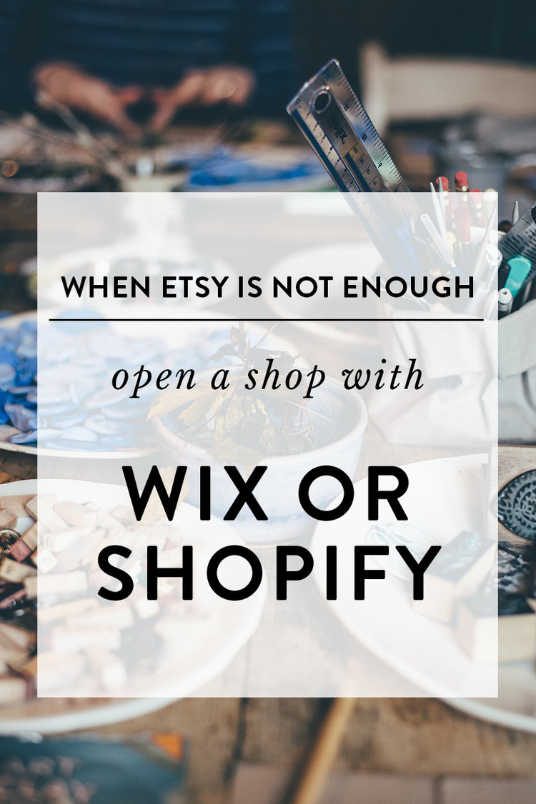 When Etsy Is Not Enough Open A Shop With Wix Or Shopify Adele Po - Wix privacy policy template