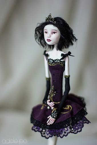 OOAK art doll - fouette by adelepo.jpg