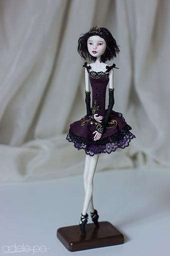 OOAK art doll - fouette by adelepo.jpg 2.jpg
