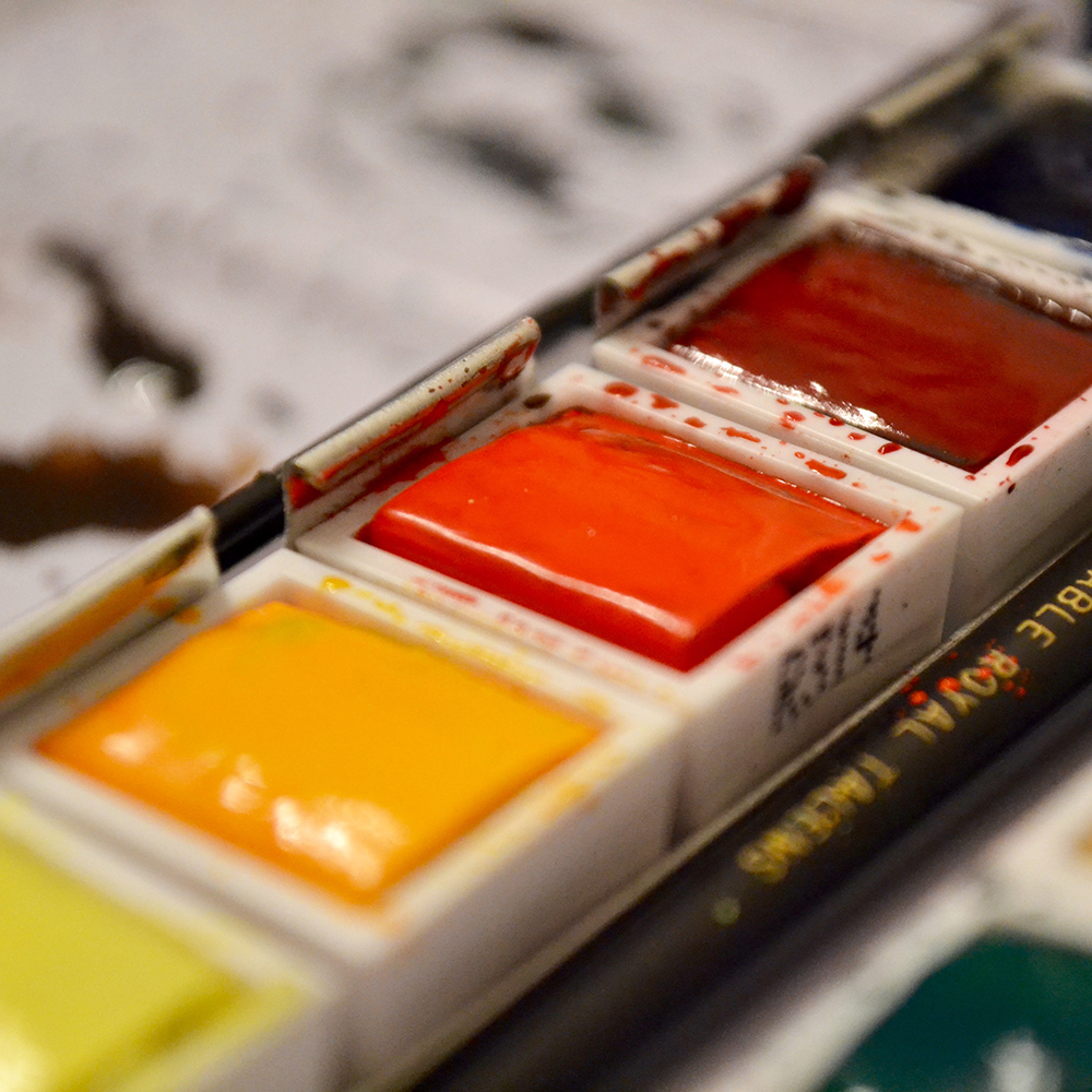 watercolour paints for dolls