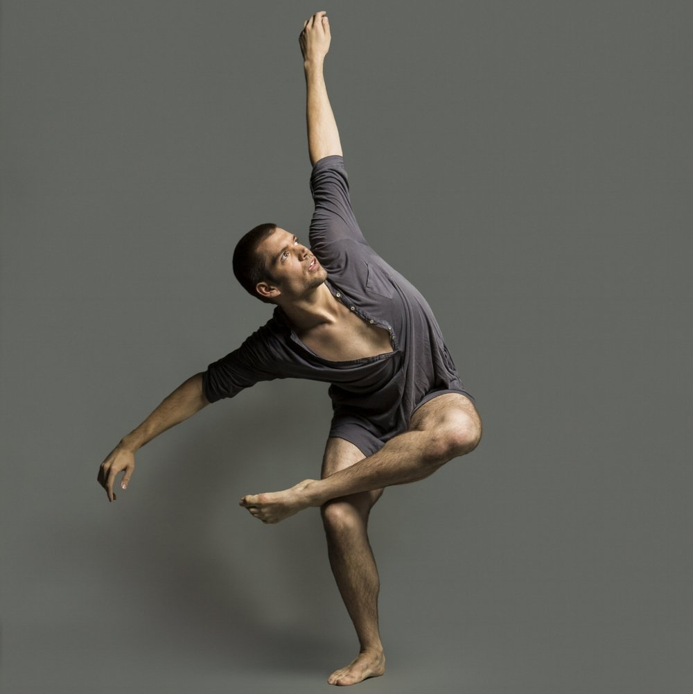 "Kevan Sullivan , Dancer  Kevan grew up in Millford, CT and started his dance training at the age of two. He studied at the Lee Lund Studio of Dance while also traveling to NYC to train. In 2009, Kevan received the Director's Talent Scholarship, which awarded him a full tuition scholarship to the University of the Arts in Philadelphia. Kevan was also selected to study at the School of Jacob's Pillow Contemporary Traditions Program in the summer of 2010. Kevan has danced for Alchemy Dance Company as well as Tommie Waheed Evan's ""Waheed Works"". Kevan joined Koresh Dance Company in 2013.  Photo by: Frank Bicking"