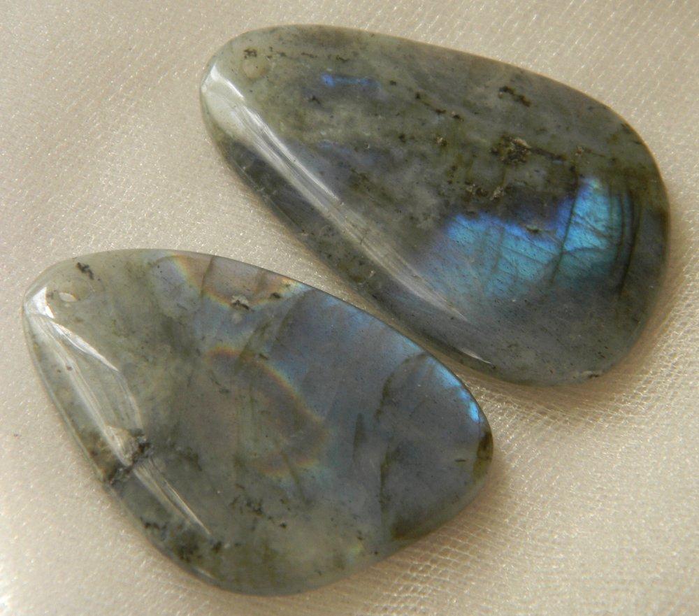 Labradorite Charms