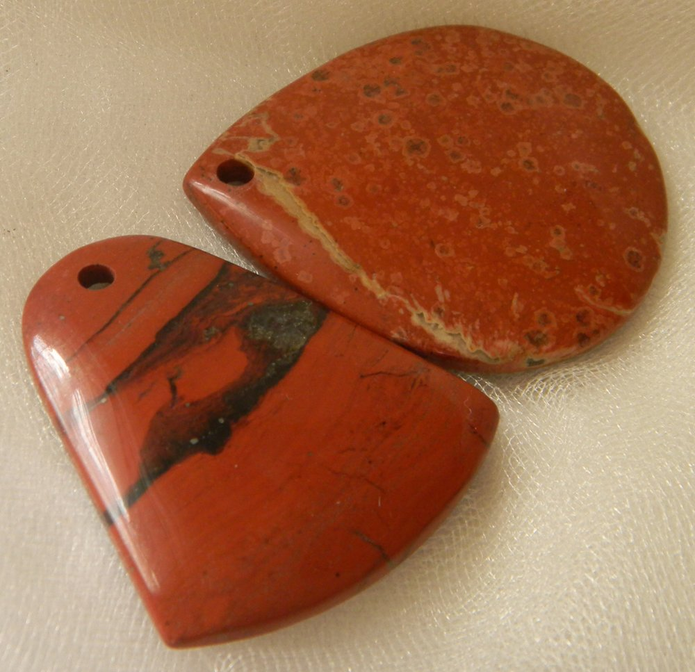 Red Jasper Charms