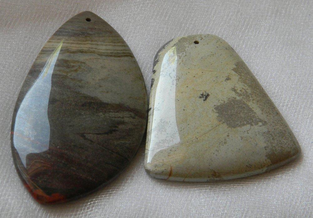 Variety of Jasper Charms