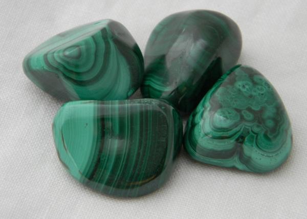 Malachite worry stone , malachite soothing stone , palm stone , thumb stone , sensory stone , malachite polished nugget & chakra gemstone