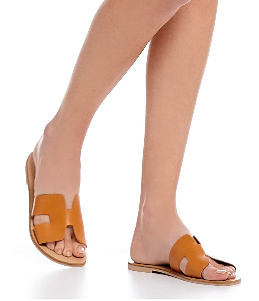 Steve Madden Greece Leather Sandals