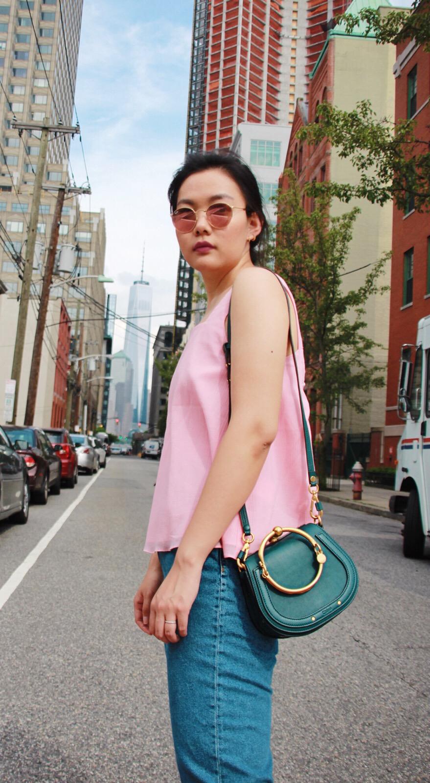 Pink & Denim - Summer Casual Style Lookbook