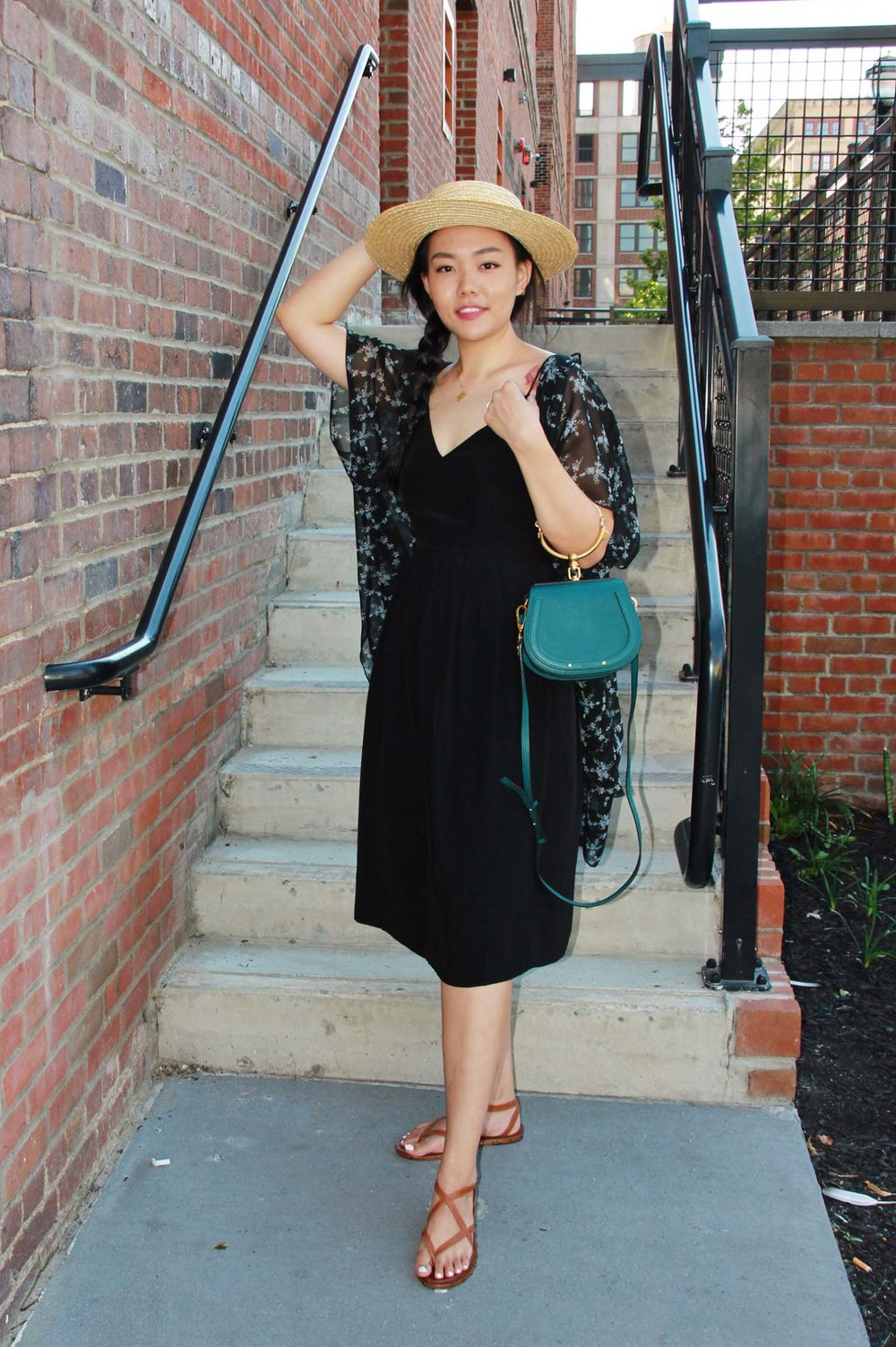 how to make a black dress stand out, accessories for black dress