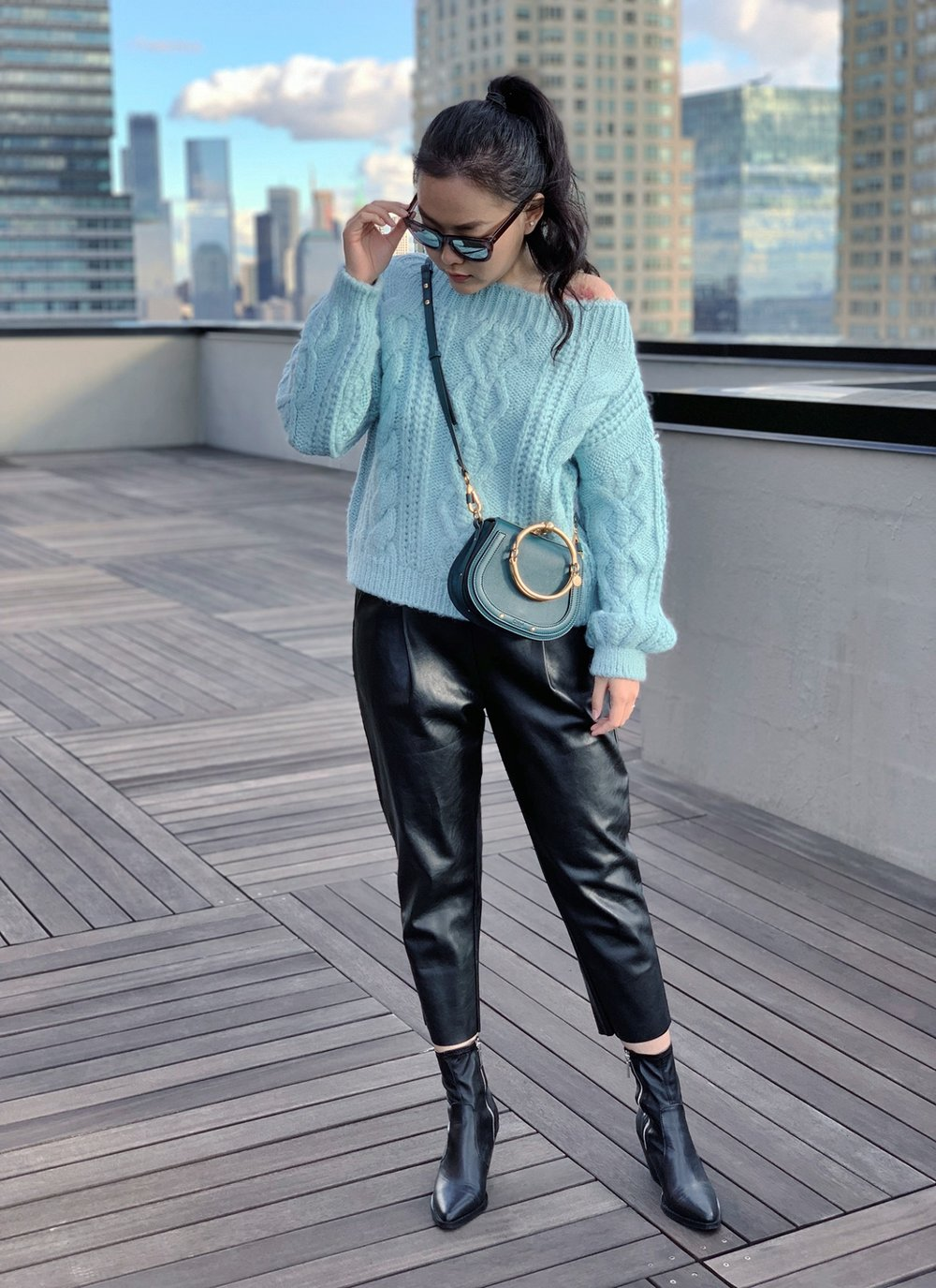 Chunky Sweater Outfits - Look Chic & Not Chunky