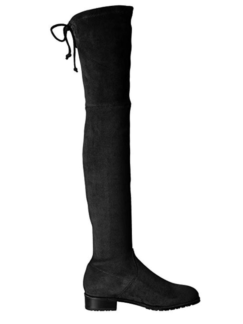 Kaitlyn Pan Flat Heel Over The Knee Thigh High Boots