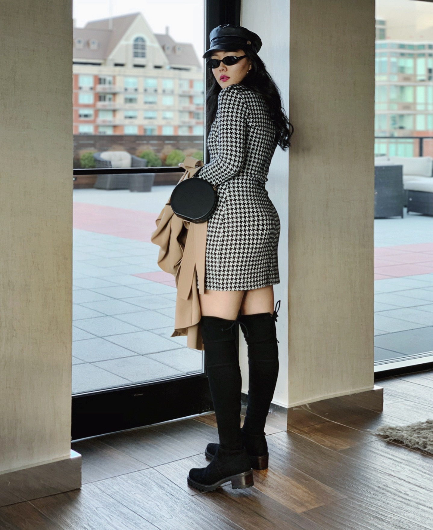 29494371bd1 Designer Shoes And Their Dupes  5 Stuart Weitzman Lowland Boots — Cafe  Carrie