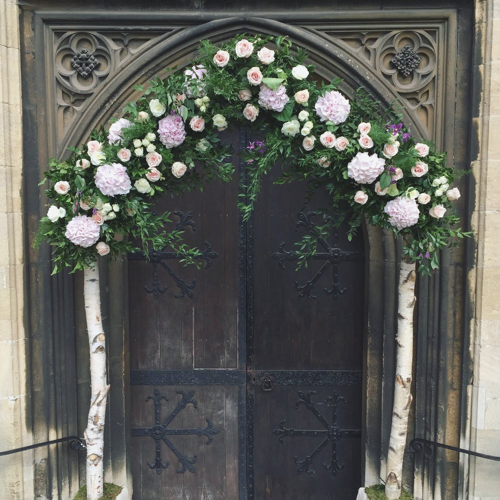 Essex Wedding Flowers - Essex Flower Arch - Essex Wedding Florist