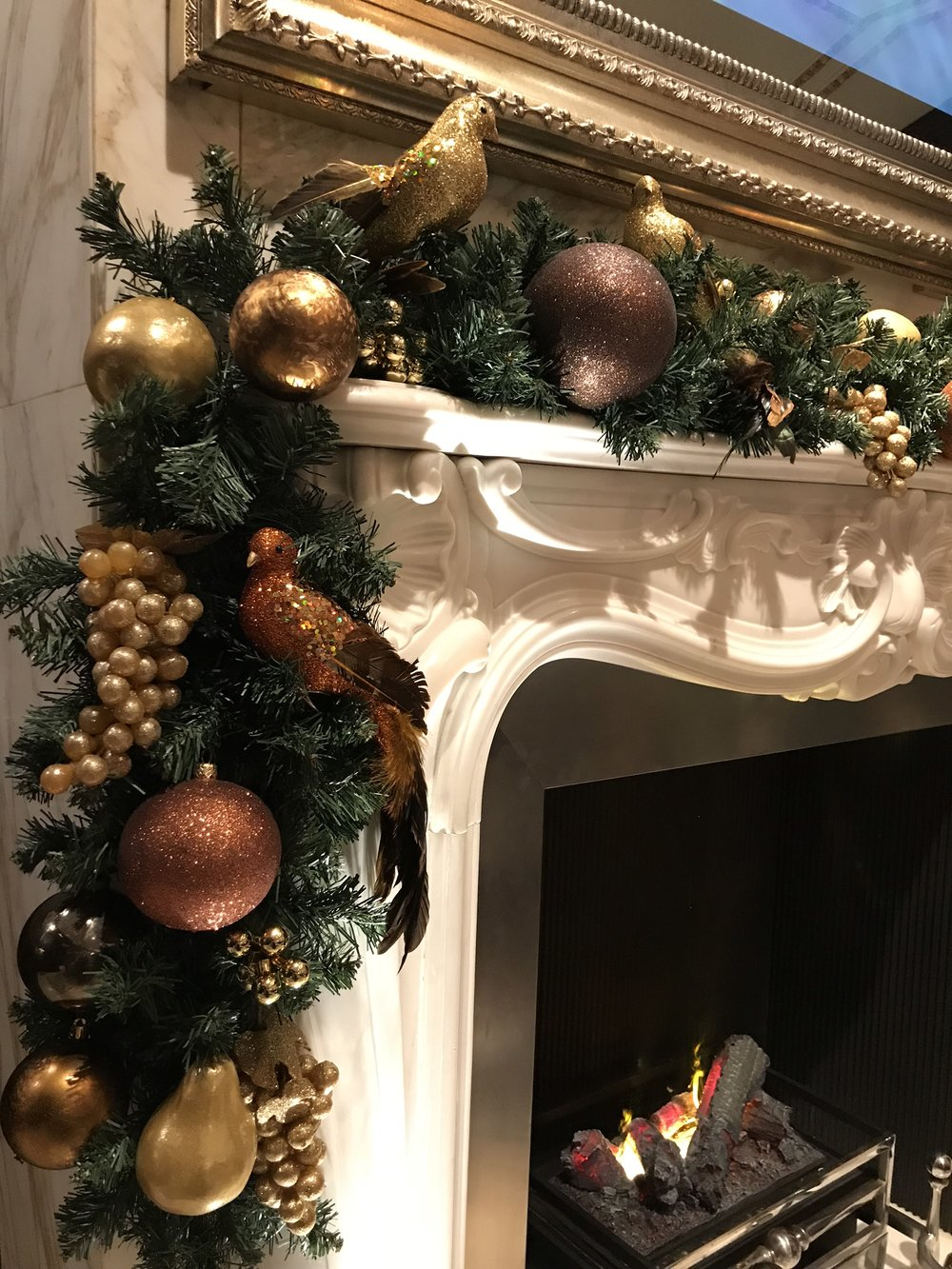 Hotel Christmas Decorations - Garlands
