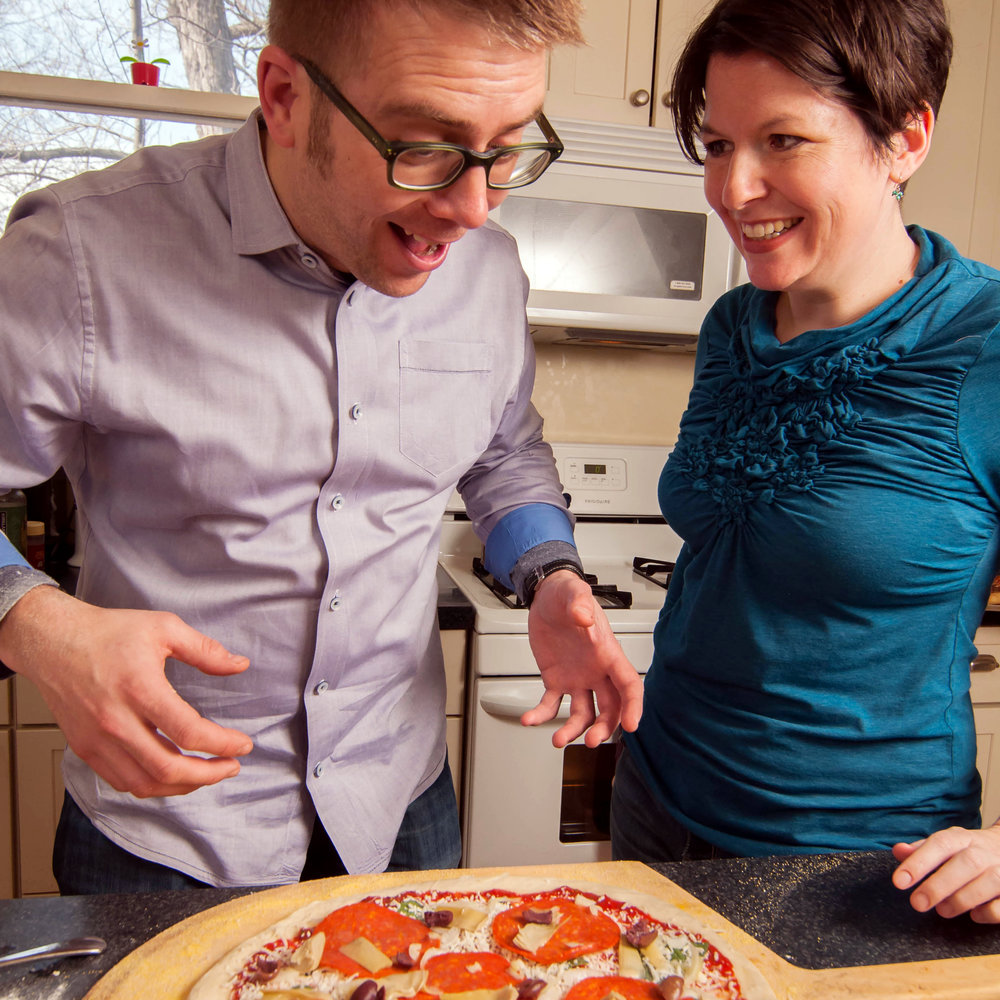The Washington Post    Pie-Eyed For Pizza: A Love Story    Now that I'm married to this pizza nerd, I love this story—about how we met, and his love of all things sliced—even more.