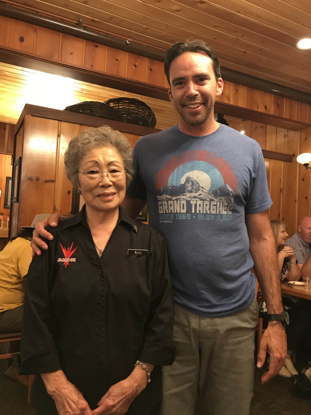 Kiyo - Getting After it, at 85 Years old - Maddox Steakhouse