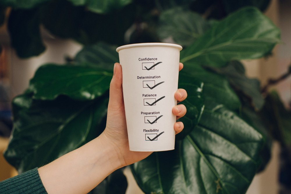 Check yourself - With good coffee