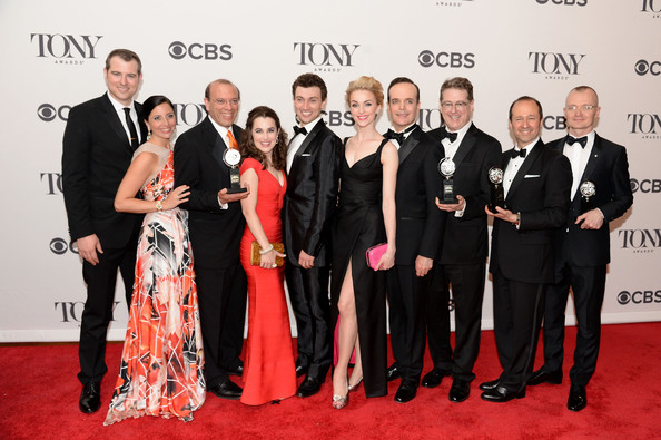 On the Tony Awards Red Carpet for  A Gentleman's Guide to Love and Murder.